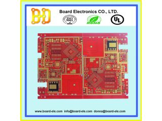 impedance control pcb . 6 layer pcb board . immersion gold pcb . multilayer pcb